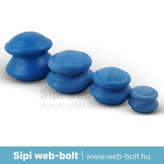 Gumi köpöly kék 4 db (narancsbőr ellen)
