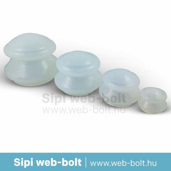 Szilikon gumi köpöly 4 db-os (narancsbőr ellen)